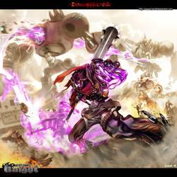 Gunslinger Knight by kw3k