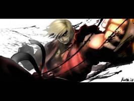 Street Fighter's Ken by kw3k
