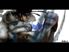 Street Fighter's Ryu by kw3k