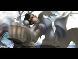 Street Fighter's Chun Li by kw3k