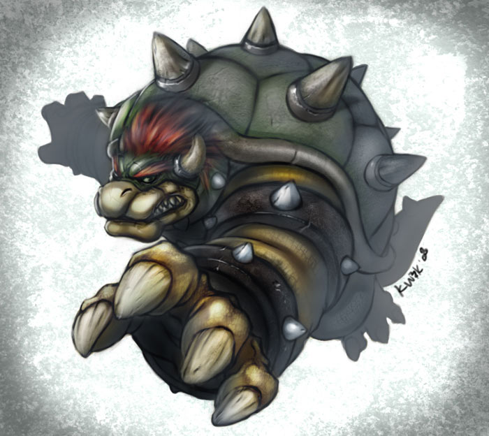 Super Smash Bowser by kw3k
