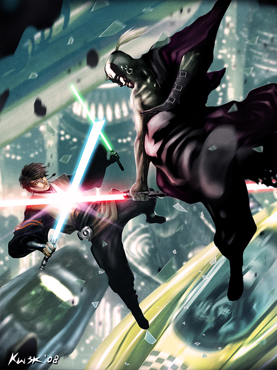 Jedi Vs Sith: Coruscant by kw3k