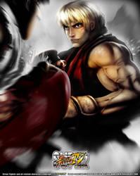 Super Street Fighter IV by kw3k