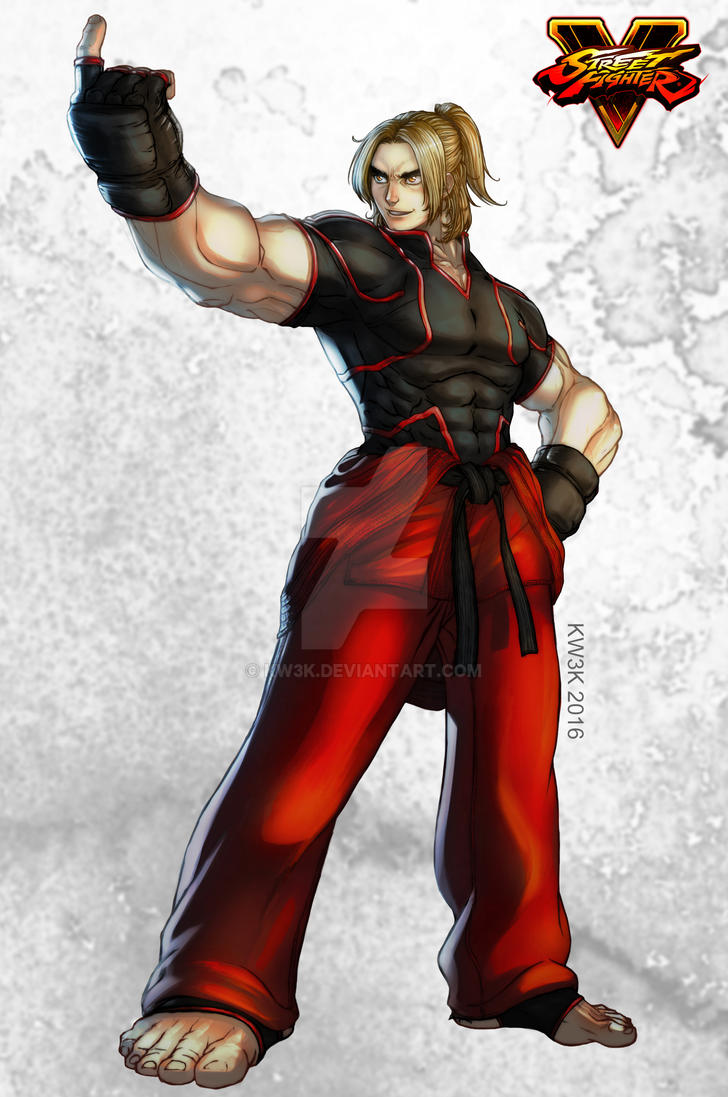 Ken Come and Fight me finish by kw3k