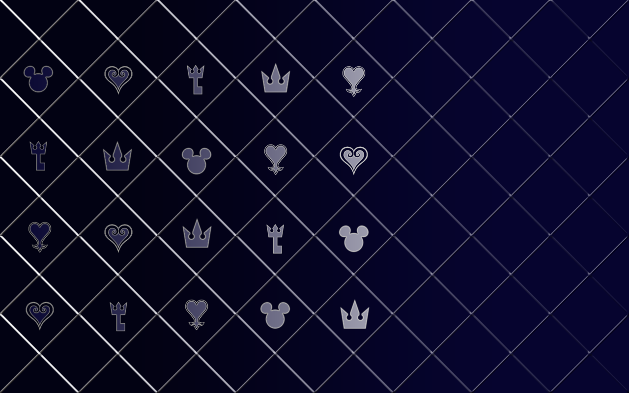 Cool Kingdom Hearts Pattern by TruthkeyKingdom Hearts Wallpaper Pattern