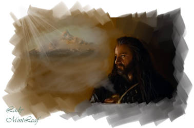 Thorin Remembering Erebor