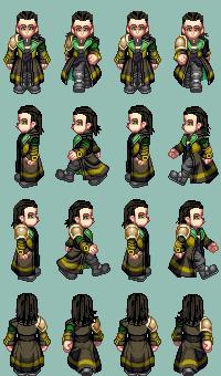 Loki character by LadyMintLeaf
