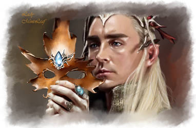 Thranduil Leaf mask