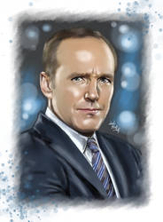 Agent Coulson by LadyMintLeaf