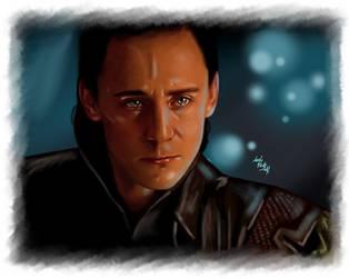 Loki - Look into my eyes by LadyMintLeaf