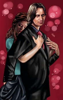 Mr Gold (Rumplestiltskin) and Belle - In my arms