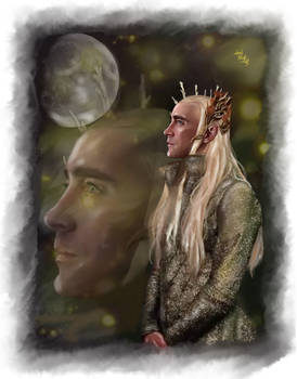 Thranduil -Moonlight on Mirkwood