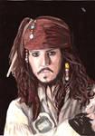 Captain Jack Sparrow by LadyMintLeaf