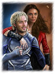 Pietro and Wanda - Silver and Scarlet