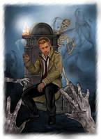 Constantine - The graveyard by LadyMintLeaf