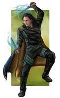 Loki - fighting