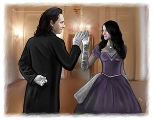 Loki and Darcy