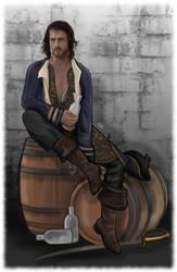 James Norrington - Lost by LadyMintLeaf