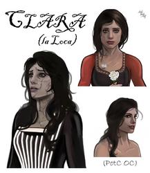 Clara (la Loca) by LadyMintLeaf