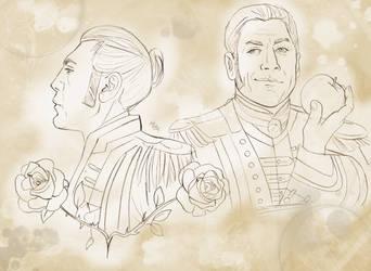 Armando Salazar (sketch) by LadyMintLeaf
