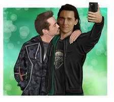 Loki and Tony - let's take a selfie