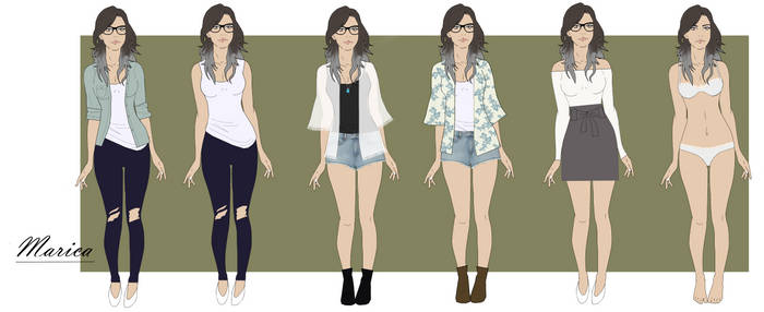 Marica - Reference Sheet