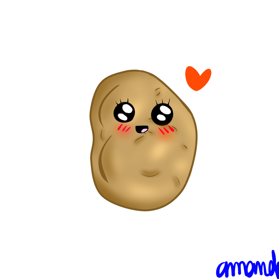 Kawaii potato