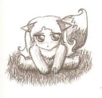 Chibi Fox by Vanaliel