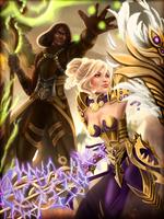Guaraha and Rheya by Vanaliel