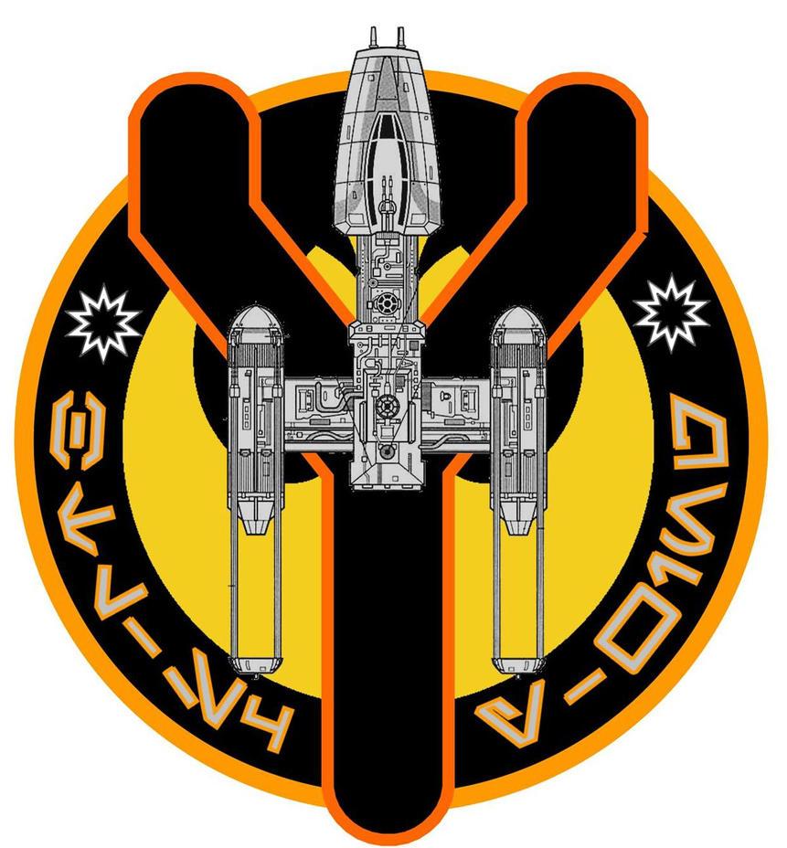 BTL-S4 Y-Wing Flight Patch by viperaviator