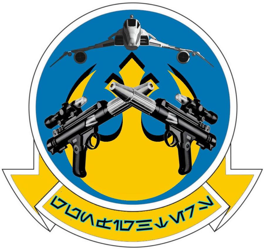 Gunfighters Squadron Insignia by viperaviator