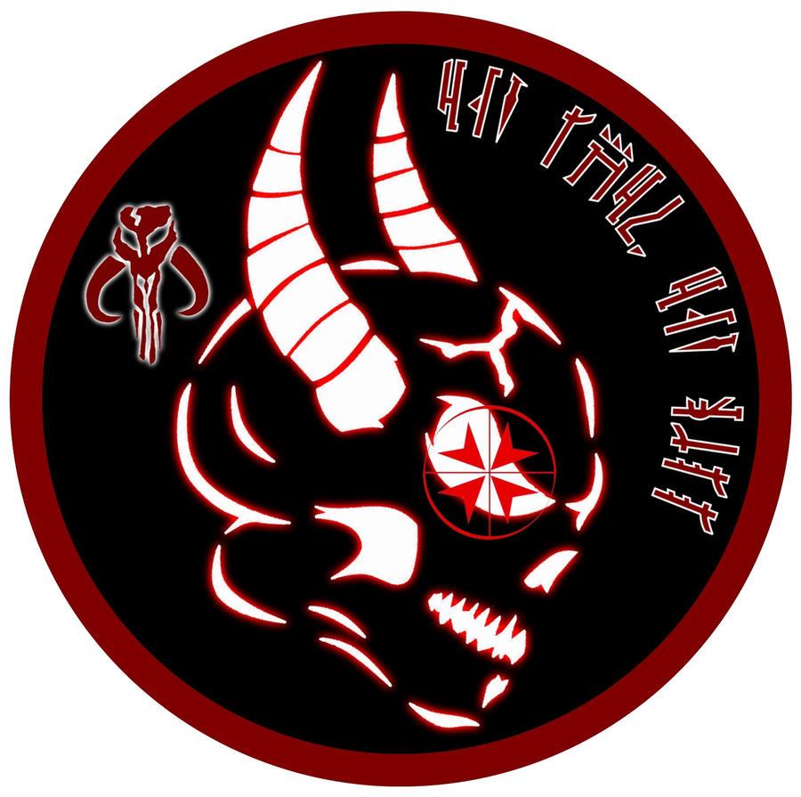 Mandalorian Scout Sniper Logo