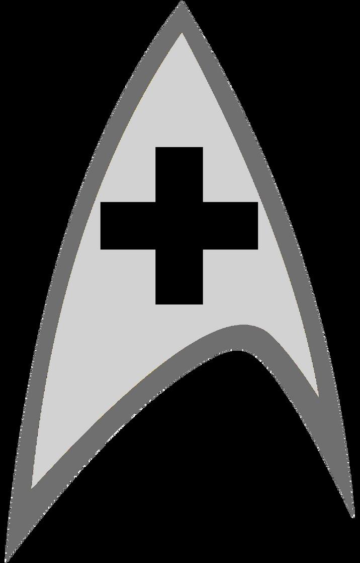 new star trek medical logo by viperaviator on deviantart rh viperaviator deviantart com star trek beyond logo vector star trek free vector