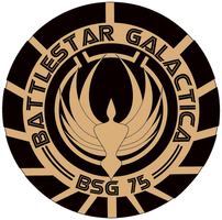 Battlestar Galactica Seal