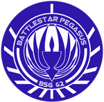 Battlestar Pegasus New Logo