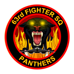 63rd Fighter Squadron Panthers by viperaviator