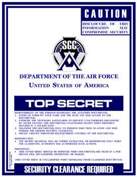 Stargate Report Cover Sheet