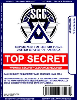 Stargate Report Cover Sheet 2