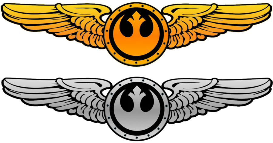 New Republic Pilot Wings V.2 by viperaviator