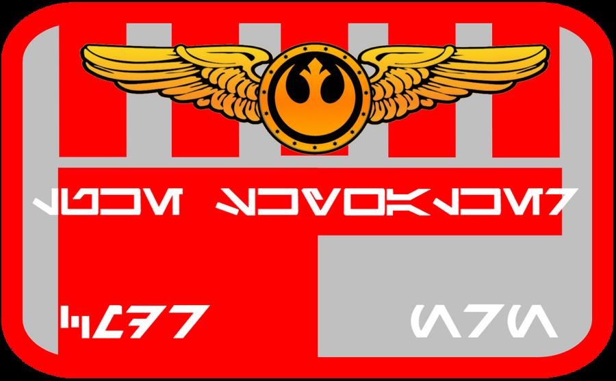 New Republic Pilot Nameplate V.2 by viperaviator