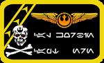 Skull Squadron Nameplate V.2