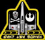 Skull Squadron X-Wing Insignia