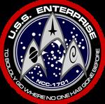 New USS Enterprise Insignia