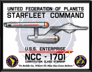 TOS Enterprise Poster