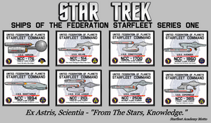 Starfleet Series One Poster