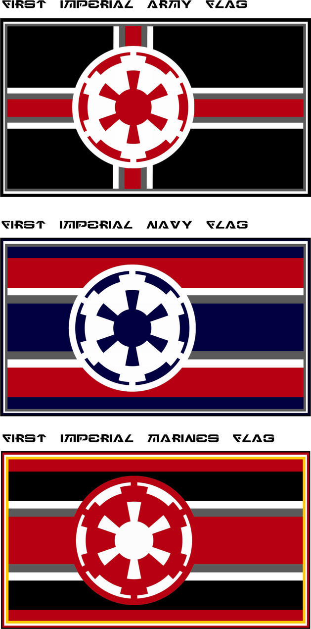 Imperial Military Flags by viperaviator