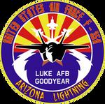 Luke AFB F-35A Lightning II Insignia