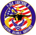 USAF F-35A Flight Insignia Alternate