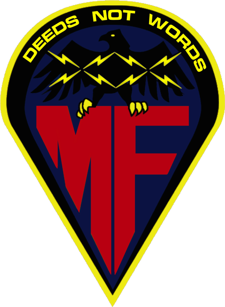Megaforce Shoulder Patch Insignia by viperaviator