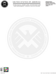 SHIELD (The Avengers) Letterhead